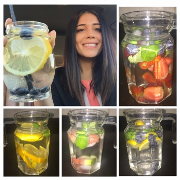 infused water article