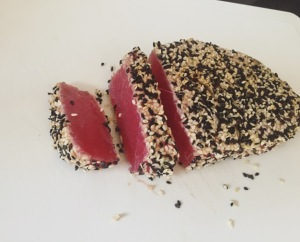 tuna steak spin 4